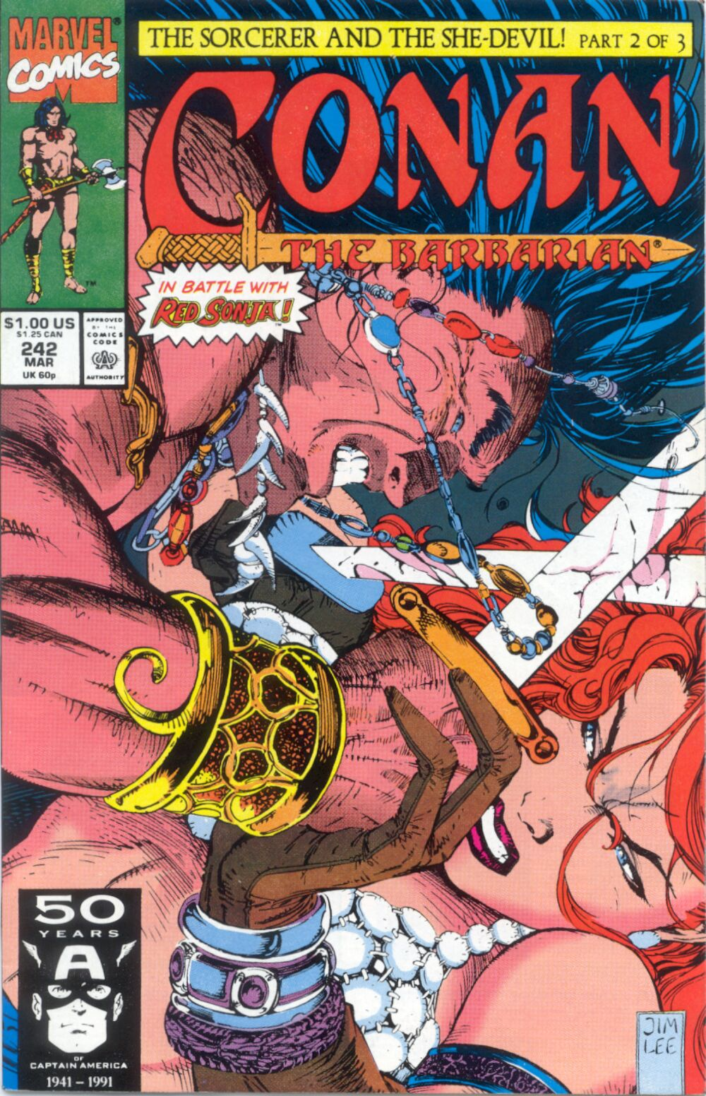 Conan the Barbarian (1970) Issue #242 #254 - English 1