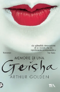 Memoirs of a geisha - book cover