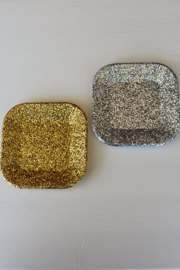 Glittery Jewelry Dish Craft