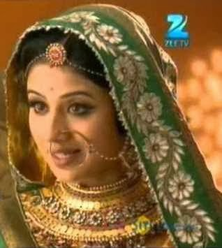 Jodha in Jodha Akbar on Zee TV