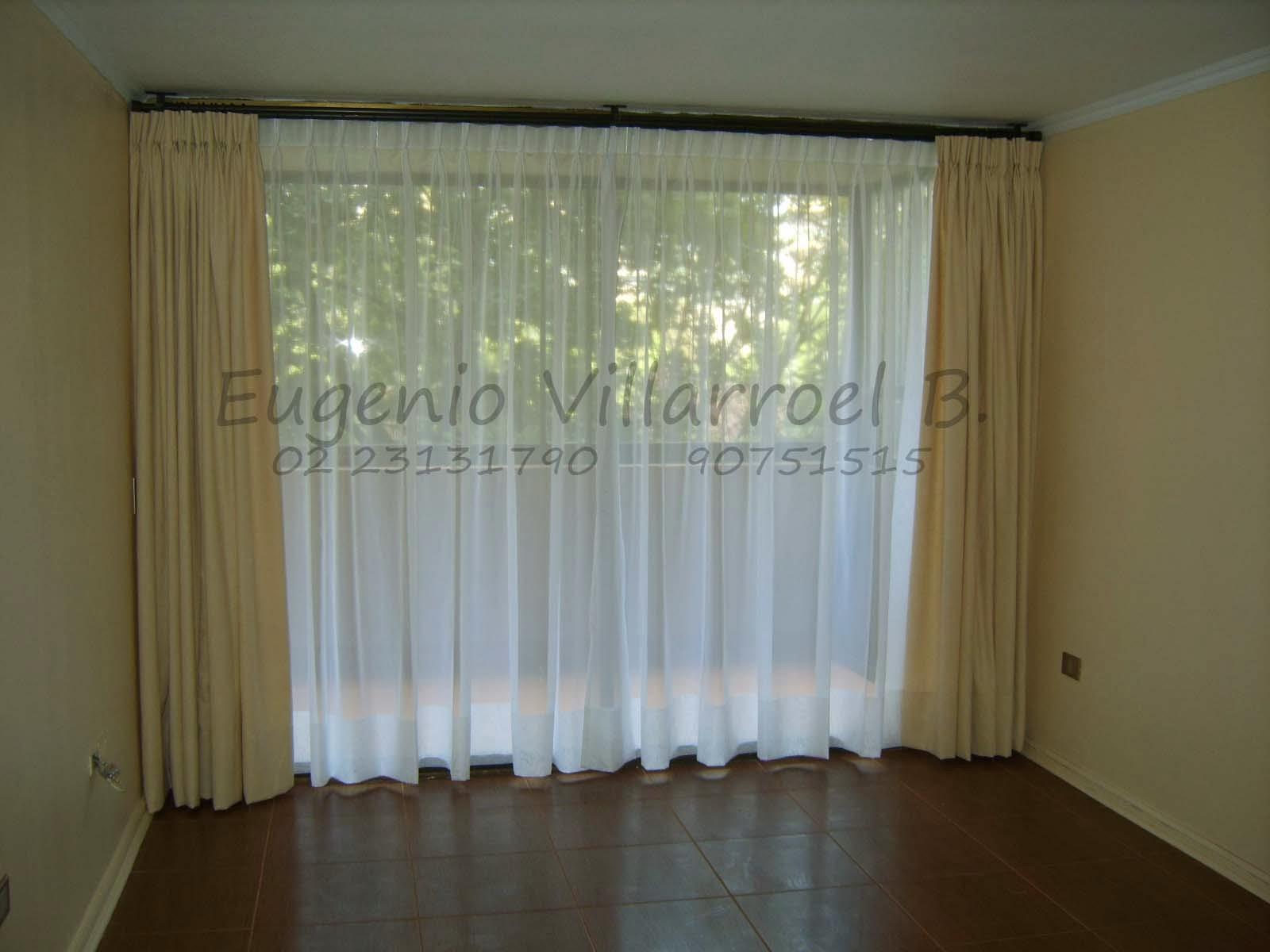 Confecci n e instalaci n de cortinas telas con visillo - Cortinas el visillo ...