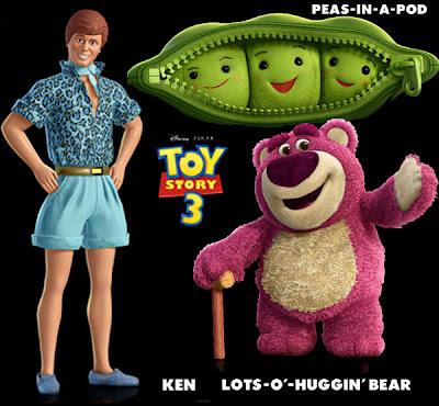 Teddy bear in Toy Story 3