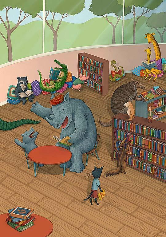 Ilustración de Rafael Yockteng
