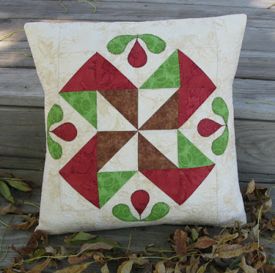 AccuQuilt pillow tutorial at Freemotion by the River