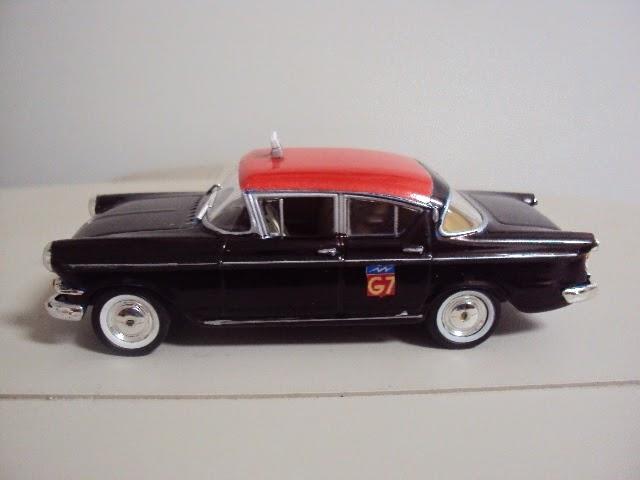 miniaturas a escala pt modified scale models opel rekord berlina taxi g7 paris 1 43. Black Bedroom Furniture Sets. Home Design Ideas