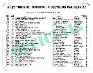 KHJ Boss 30 No. 35 - March 2, 1966