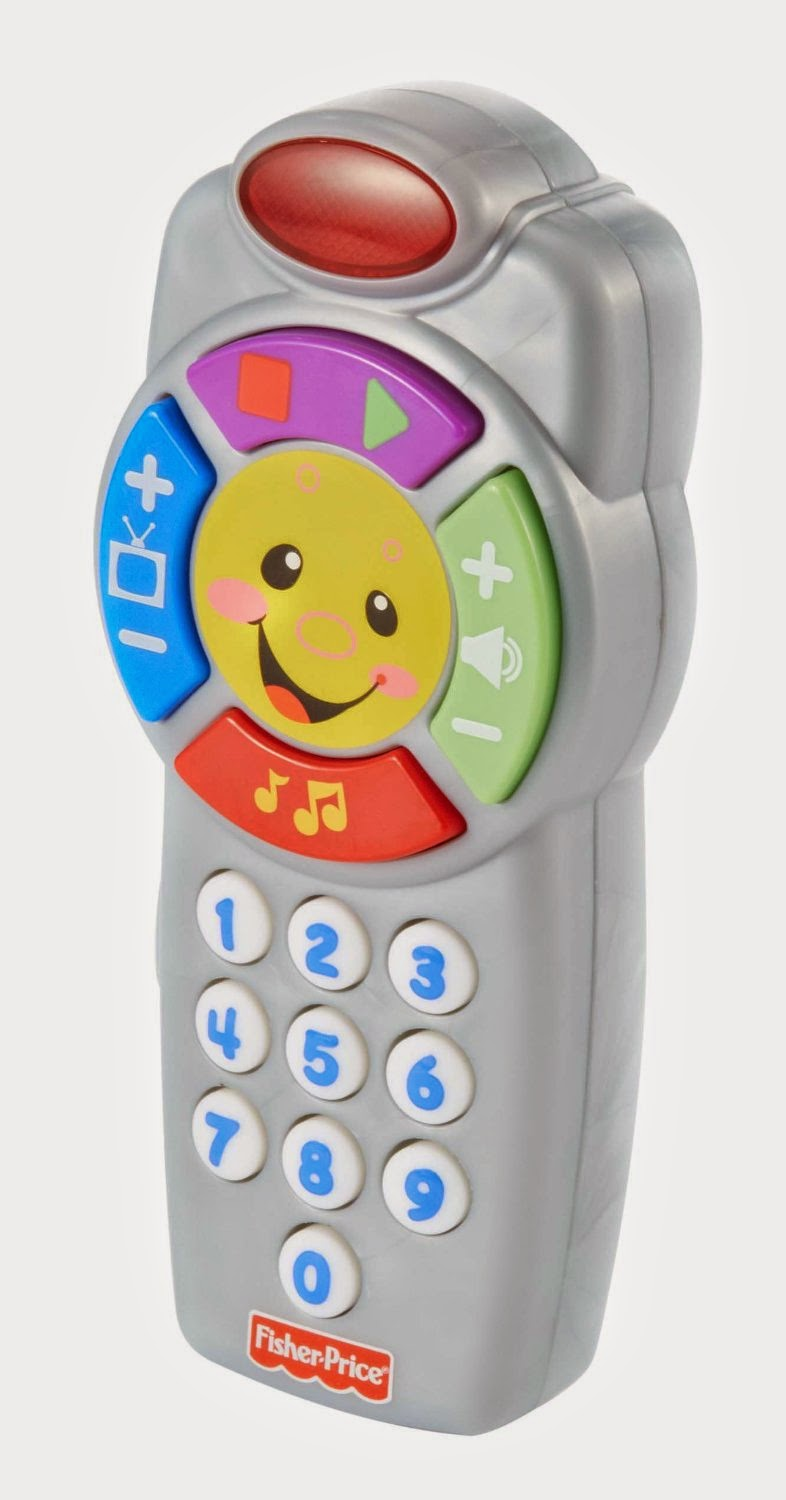Fisher-Price Laugh and Learn Click'n Learn Remote
