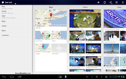 AccuWeather Platinum for android