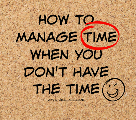 Time Management, How to Manage Time, Time Management Tips, How To Beat Deadlines
