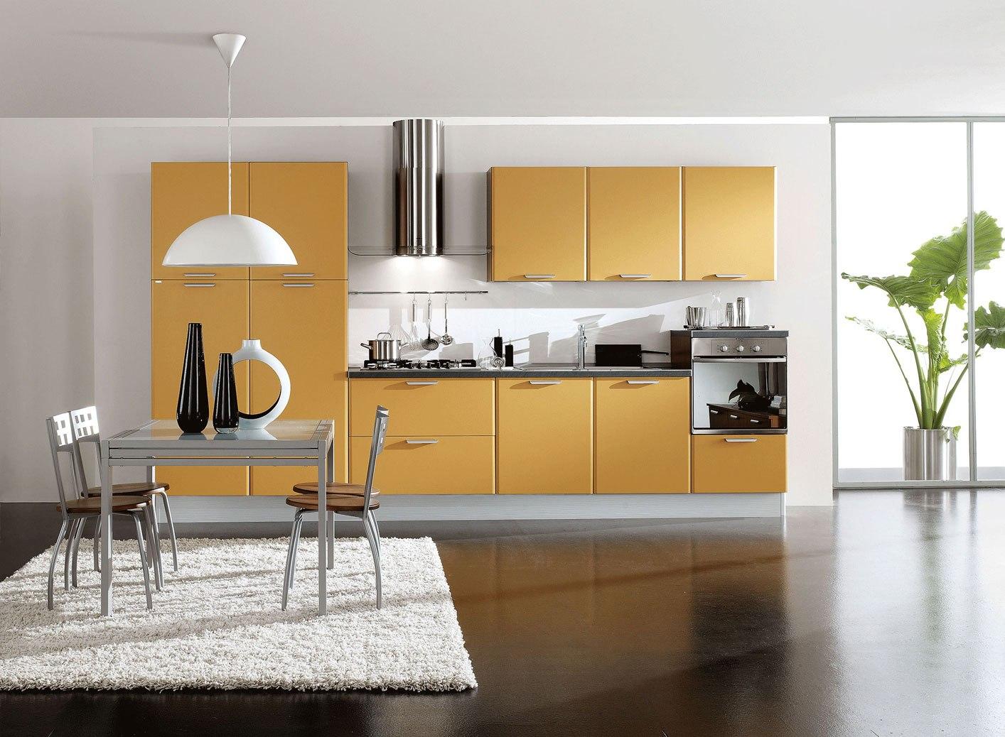 El acabado de la cocina brillo o mate cocinas con estilo for Cocina en la cocina