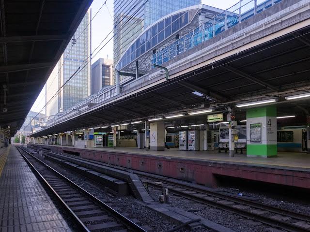 線路,東京駅〈著作権フリー無料画像〉Free Stock Photos