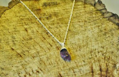 you earth ash amethyst necklace bird's yard sheffield