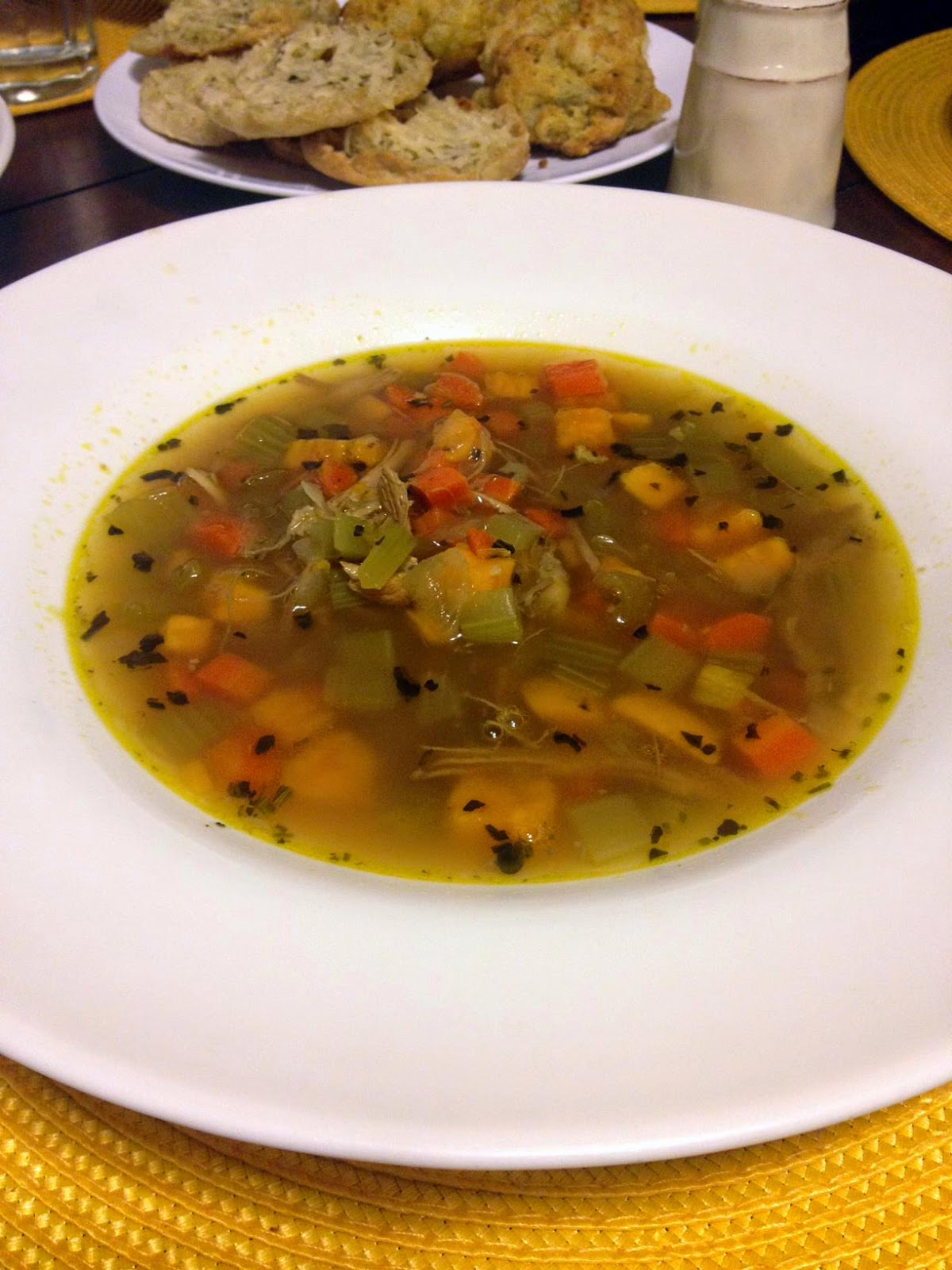 Resourceful Paleo: Roasted Turkey Soup