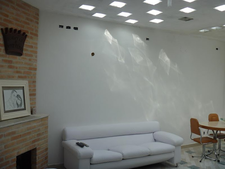 laje clara claridade bloco tijolo vidro luz sol solar