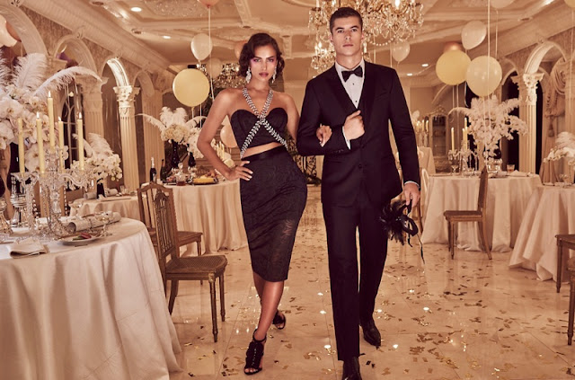 Irina Shayk stuns for the Bebe Holiday 2015 Lookbook