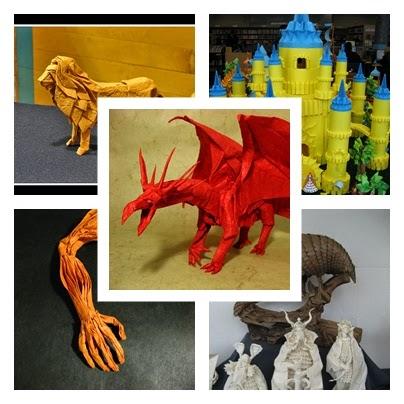 Os mais incríveis origamis