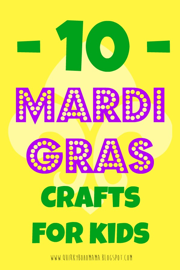 Mardi Gras Kids Crafts Part - 26: 10 Mardi Gras Crafts For Kids