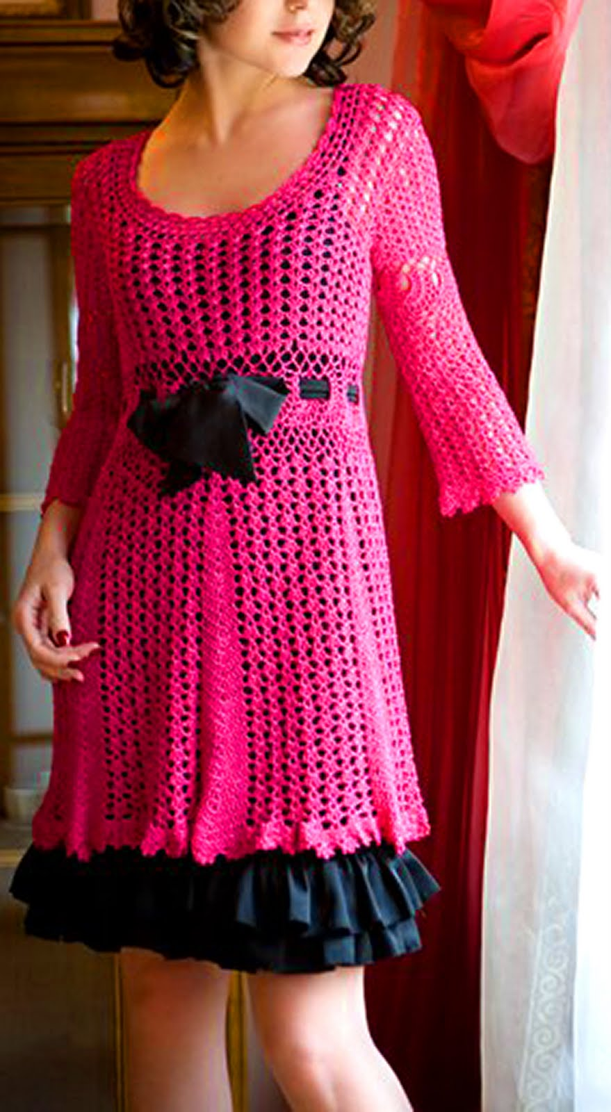 Crochet Clothing : ... dress? Oohhh...I just wanit, wanit, wanit! The design is a Cynthia