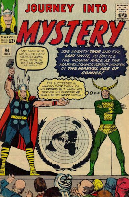 Journey Into Mystery #94, Thor and Loki