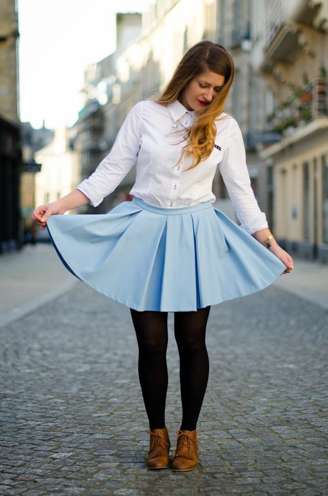 Bleu ciel elofancy blog mode rennes voyage tendances - Quelle couleur va avec le bleu ciel ...