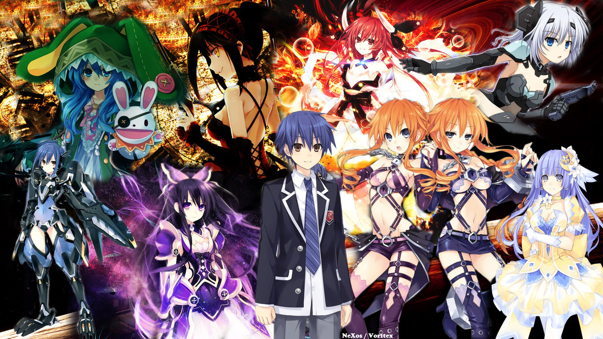 Anime Character 2 : Red reviews anime simple review date a live ii