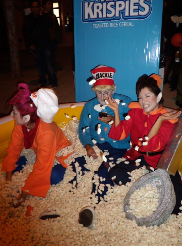 West Hollywood Halloween Rice Krispies costumes 2009
