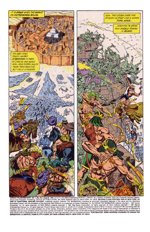 Conan the Barbarian (1970) Issue #247 #259 - English 2