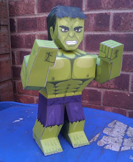 The Avengers, Hulk Papercraft