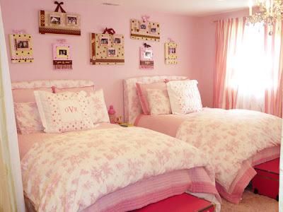 cuarto rosa para dos chicas
