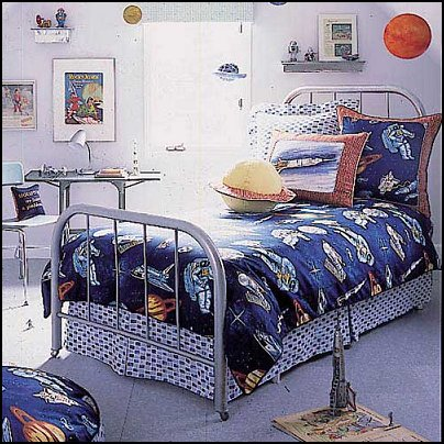 Outer Space Theme Bedroom Decorating Ideas