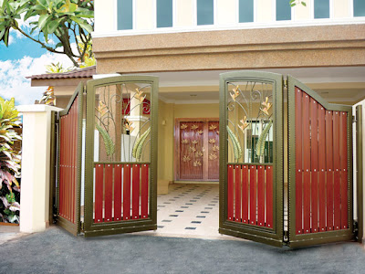 Modern homes main entrance gate designs home decorating for International decor main gates