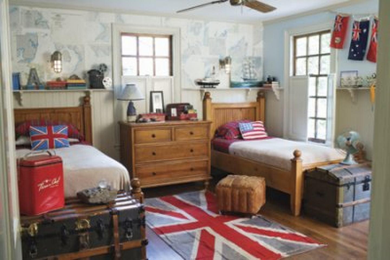 Nautical Childrens Bedroom Similiar British Flag Room Decor Keywords