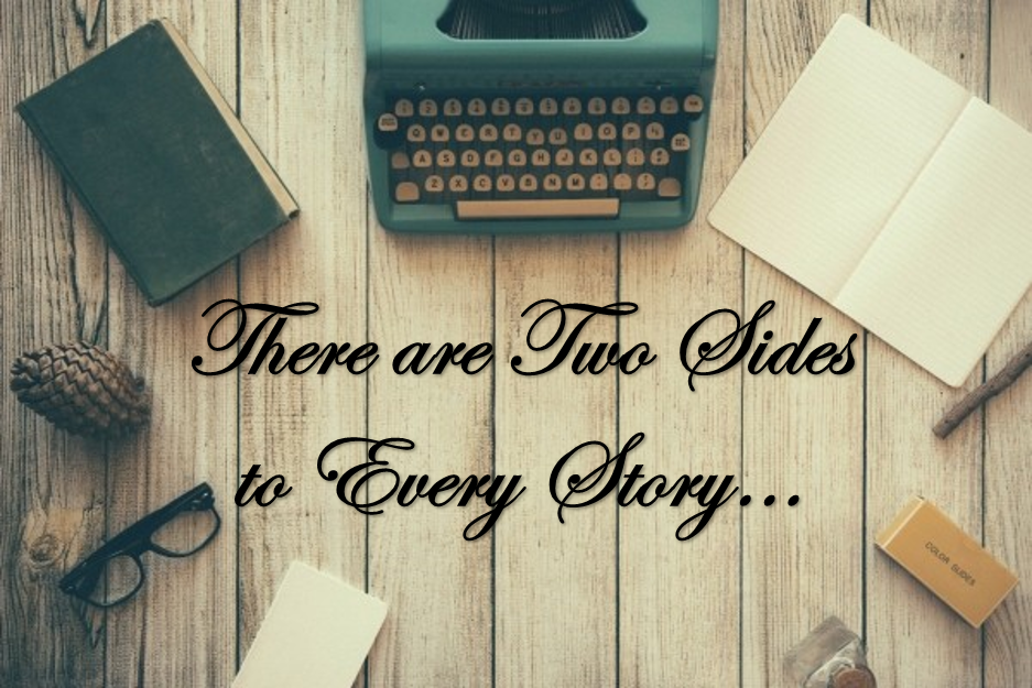 there are two sides to every story book