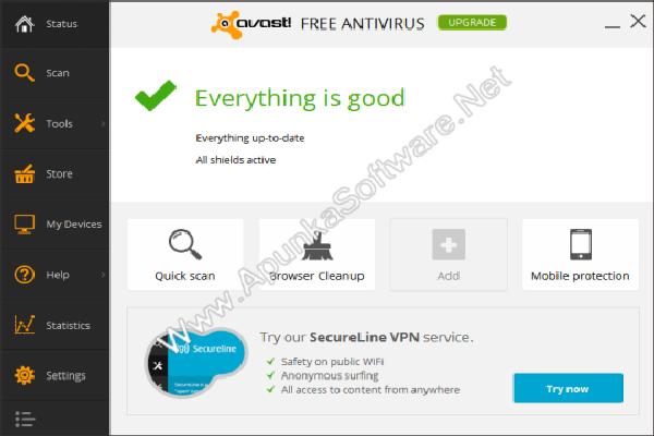 Avast! Free Antivirus 10 Free Download - Free Download