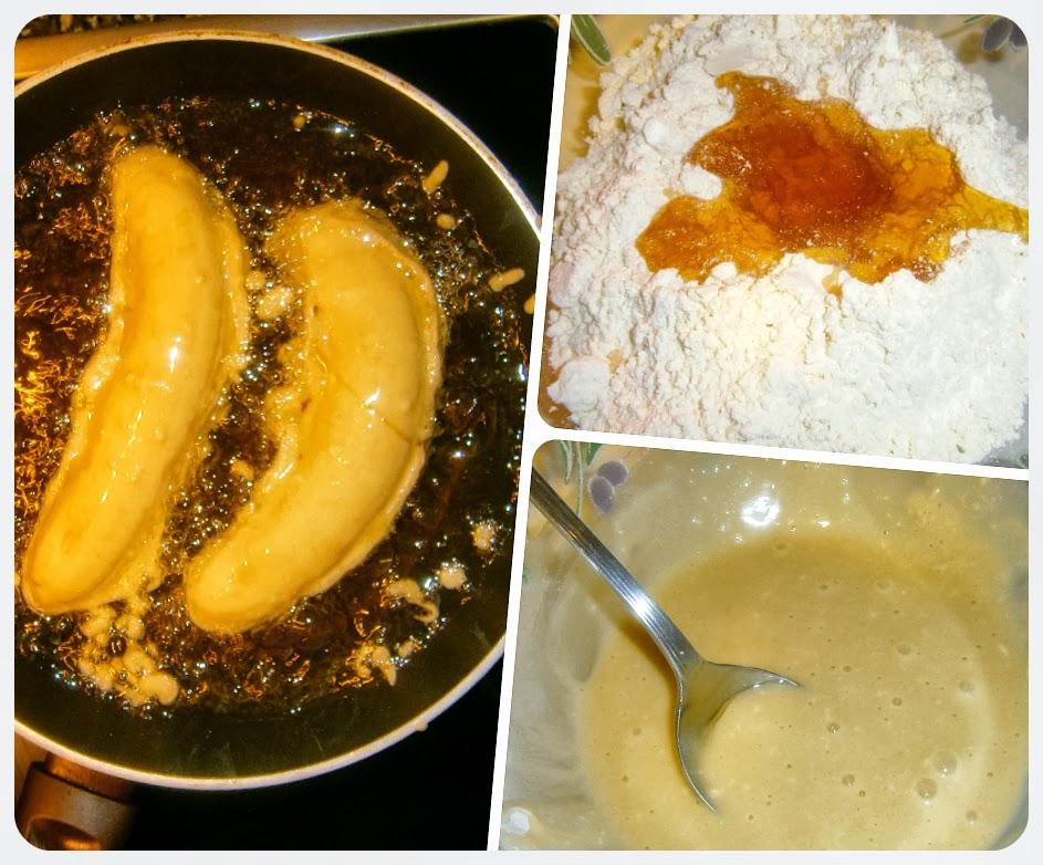 Platano Frito con Miel