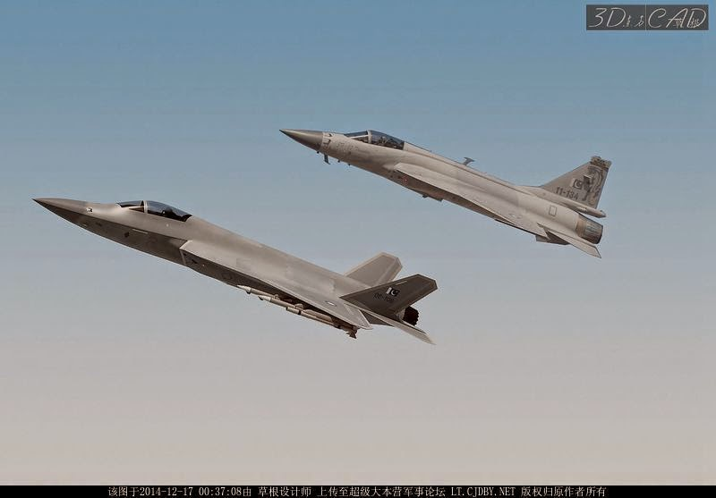 Jf 17 stealth version computer generated images errymath
