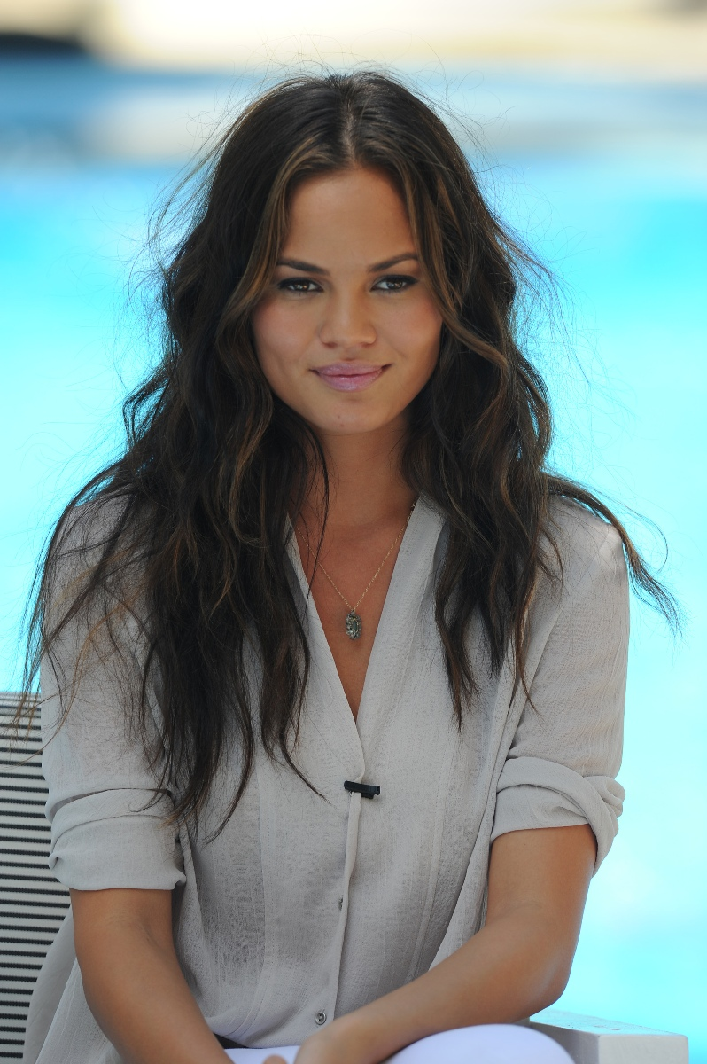 teigen guys Chrissy teigen let it all hang out in a plunging tuxedo while presenting at the spike guys' choice awards in culver city on saturday the 30-year-old new mother - who's been breastfeeding two-month-old daughter luna - flaunted her swollen assets in a lacy bustier onstage sony pictures studios as.