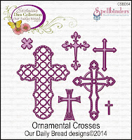 ODBD Custom Ornamental Crosses Die Set