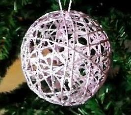 Creaci n artesanal adornos del rbol de navidad con - Adornos navidenos con material reciclado para ninos ...