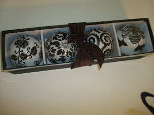 Decorative balls SOLD