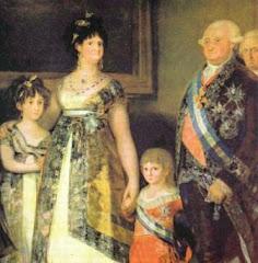 La Famila de Carlos IV