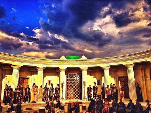 Nueva Foto en el Set de Hércules
