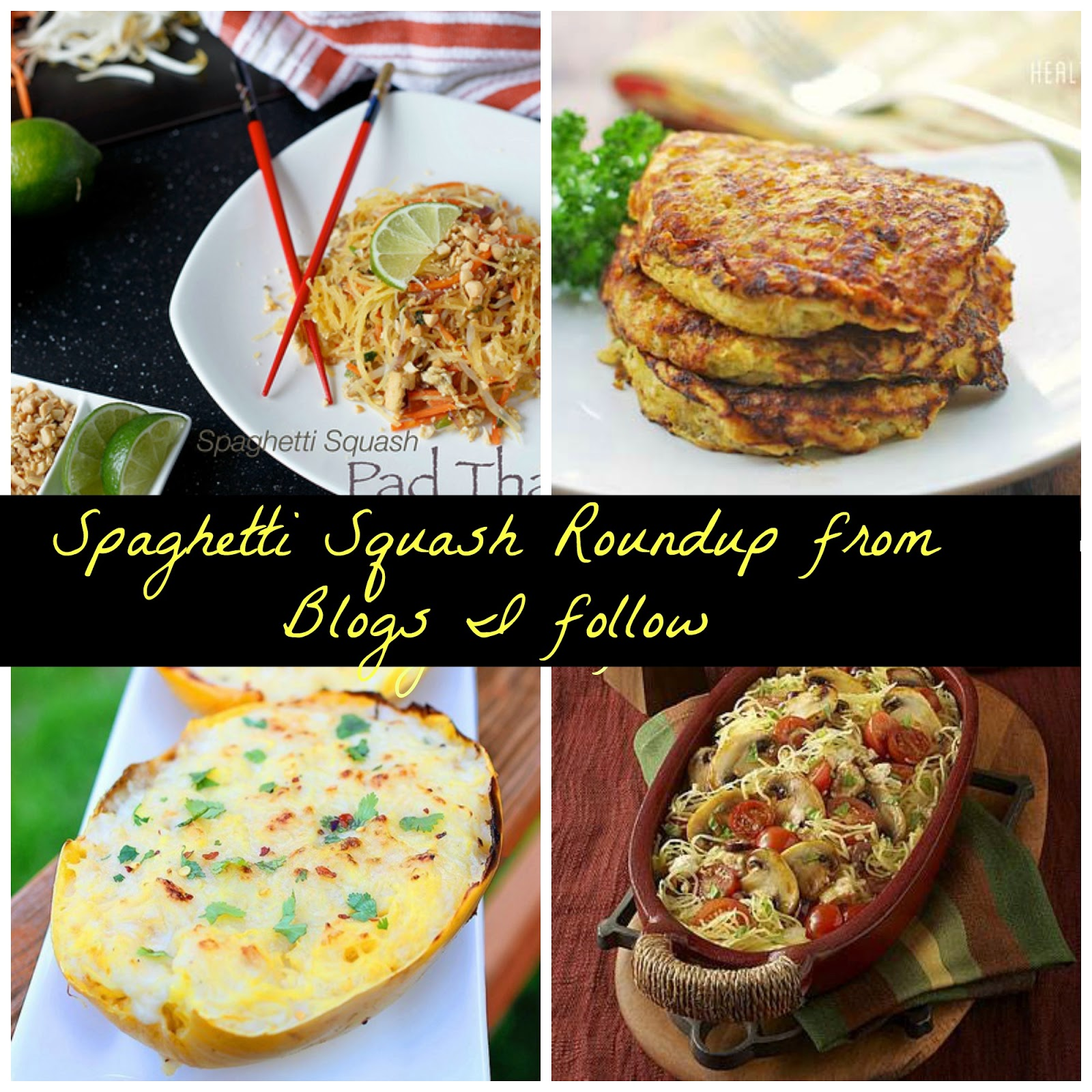 vegetarian spaghetti squash recipes