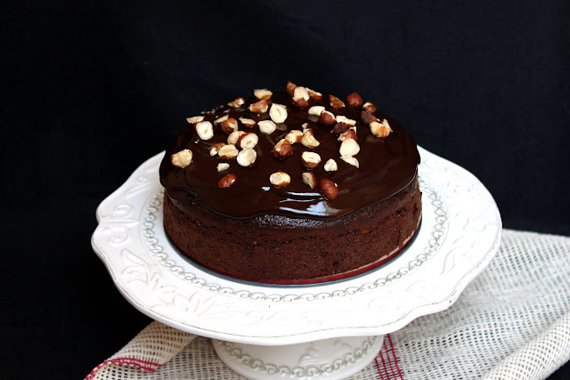 Chocolate Beetroot Cake With Pink Icing