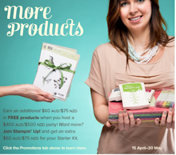 Earn $60 extra free product from 15th April to 30th May 2013