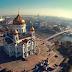 Sobrevolando Moscú: la hermosa ciudad rusa vista desde el aire.