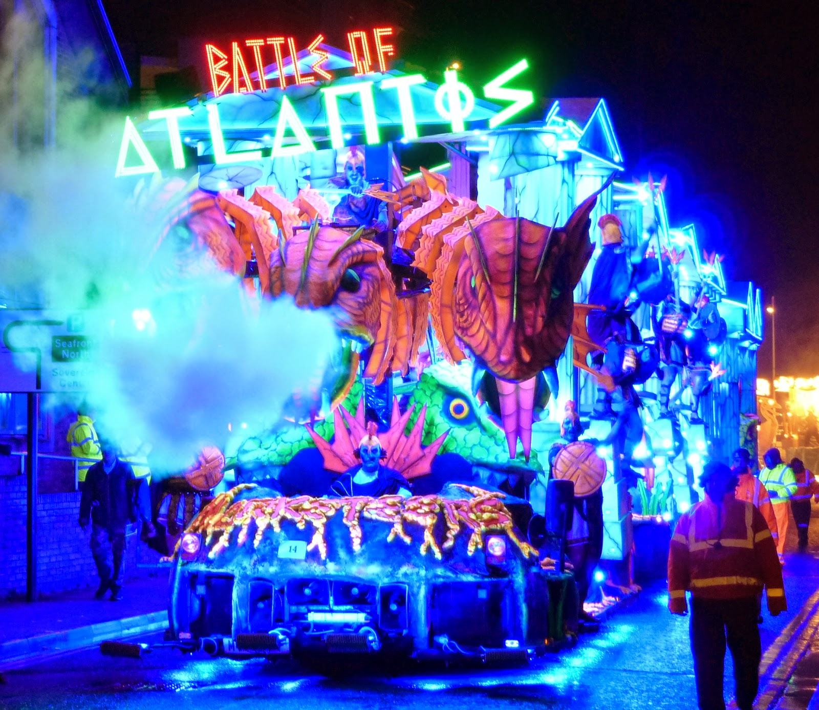 Somerset Carnival Season 2014 - Marketeers Carnival Club with 'Battle of Atlantis'