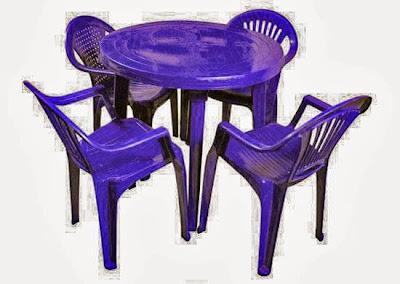 Фото пластиковые столы и стулья