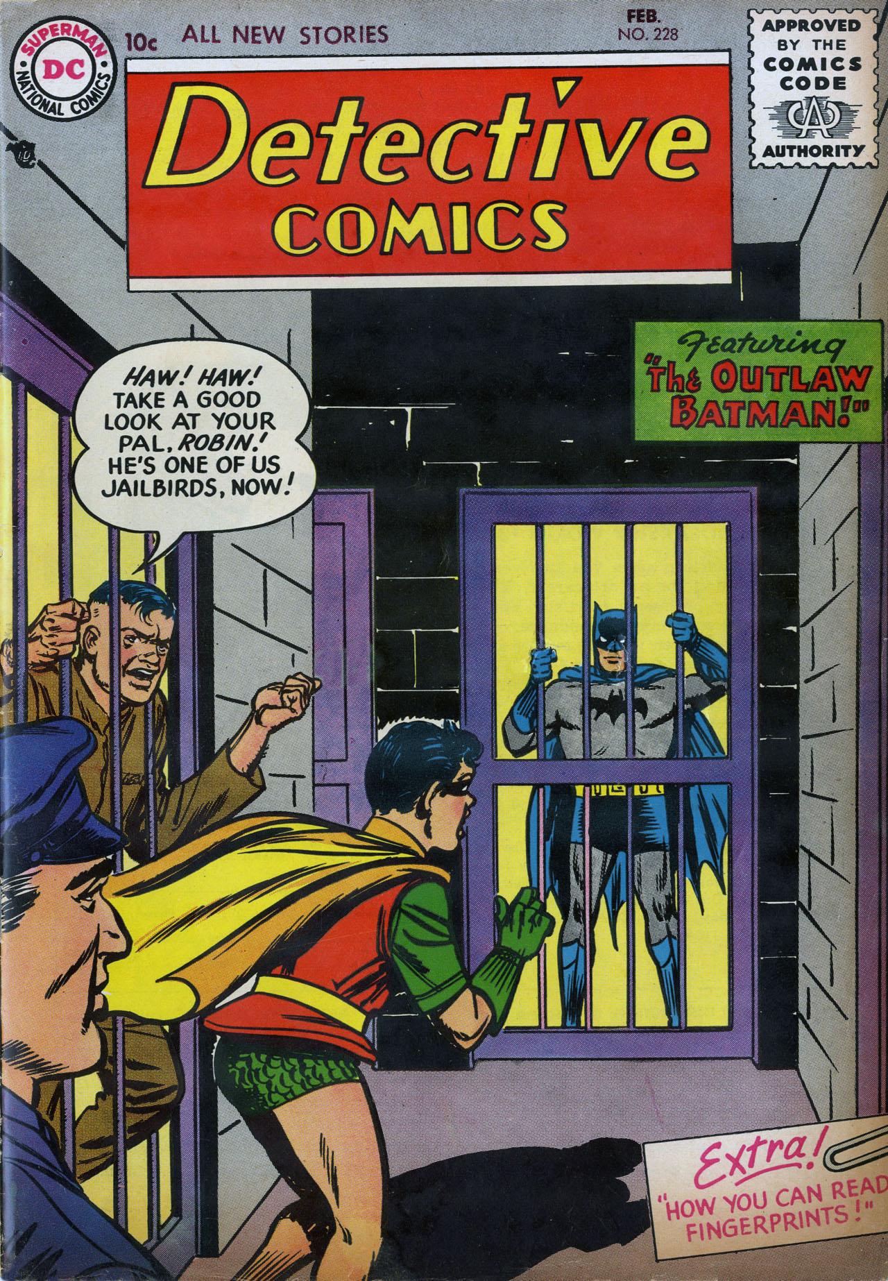 Detective Comics (1937) 228 Page 1