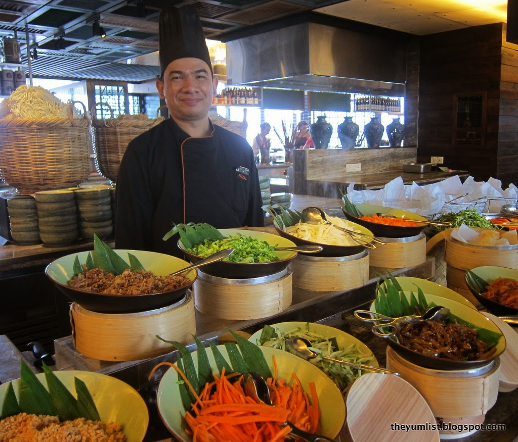 Makan Kitchen, DoubleTree by Hilton, Weekend High Tea, authentic Malaysian Cuisine, Indian food, Malay favourites,  Nyonya delights, Merdeka specials, live cooking stations,